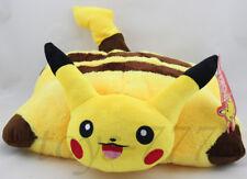 "Pokemon Pikachu Character Pillow 15"" Stuffed Animal Nintendo Cartoon Cushion toy"