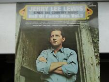 record vinyl LP original JERRY LEE LEWIS hall of fame hits 2 20158SMCL