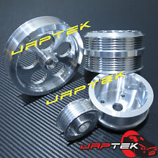 Lightweight Underdrive Pulley Set For Mazda RX7 93-95 FD3S 1.3L 13B Rotary RX-7