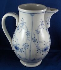 Antique 19thC Schney Porcelain Strawflower Coffee Pot Porzellan Kanne German