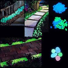 10Pcs Creative Artificial Fish Tank Aquarium Decoration Pebble Stone Luminous