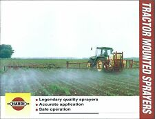 Farm Equipment Brochure - Hardi - Tractor Mounted Sprayers - 2002 (F5100)