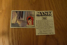 Mask Panini sticker 1986 ( M.A.S.K.  Kenner parker toys ) number 152
