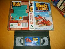 VHS *BOB THE BUILDER - BOB'S WHITE CHRISTMAS + OTHERS* Can we fix it? Yes we can