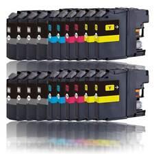 20x Tinte Patronen Druckerpatronen für BROTHER LC121BK LC121C LC121M LC121Y