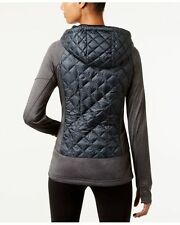 MICHAEL Kors mixed media active puffer coat/jacket black/tonal S Orig. $160.00