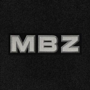 Lloyd Mats Classic Loop Black Front Floor Mats for Mercedes-Benz 1955 to 2018