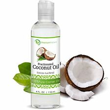 Coconut Oil, Natural Carrier Oil 4 oz, Nourishes Skin, For Face & Body, & Hair,