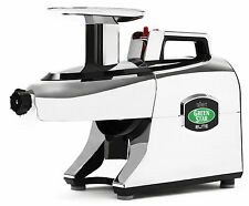 Tribest Greenstar Elite GSE-5050 Jumbo Twin Gear Slow Masticating Juicer Chrome