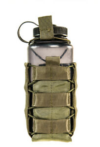 HSGI MOLLE or BELT Soft Taco Water/Mag/GP Pouch-Multicam-Coyote-OD-Black