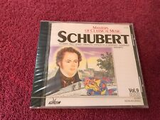 Masters of Classical Music V 9 Schubert Brand New 98 Delta CD Various Musicians