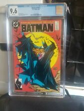 BATMAN #423 CGC 9.6 White Pages TODD MCFARLANE COVER First Print, Hot Book!!!