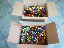 LEGO - 1 KG - Steine Sondersteine Räder Platten Sammlung - Konvolut Kilogramm