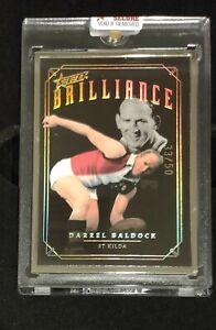 2020 AFL Select BRILLIANCE - Darrel BALDOCK #33/50 St Kilda Legend