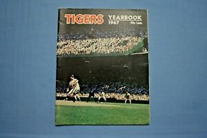 1967 Detroit Tigers Yearbook Denny McLain cover ex condition Al Kaline
