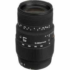 Sigma 70-300mm f/4-5.6 DG Macro Telephoto Lens for Canon. U.S. Authorized Dealer