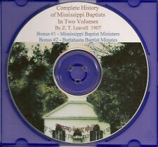 Complete History of Mississippi Baptists- Vol I & II