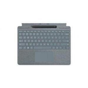 Microsoft Surface Pro X Signature Keyboard Ice Blue with Slim Pen - Full mechani