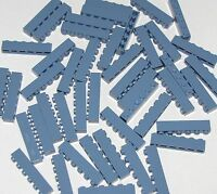 LEGO LOT OF 50 NEW SAND BLUE 1 X 6 BRICKS BUILDING BLOCKS PIECES