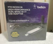 BELKIN  N750 DB / N900 DB High Performance  Dual - Band Wi-Fi USB Adapter