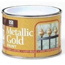 Metallic Gold Paint 180ml Metal Wood Fencing Head Stone