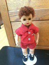 Doll Tiny Jerri Lee in Terri Lee Family Outfit caracul wig tagged outfit 1950s