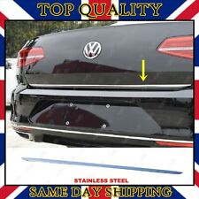 Chrome Rear Trunk Under Trim S.STEEL Fits VW Passat B8 Saloon 2014-up