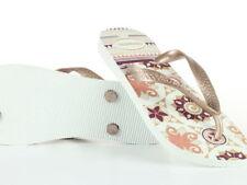 Scarpe da donna bianchi Havaianas con tacco basso (1,3-3,8 cm)