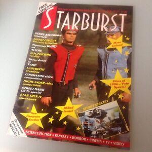 Starburst Magazine Mag No 102 Sci Fi Movies Films T.V.