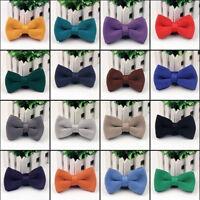 Net Knitted Men Necktie Pre Tied Bow Tie -Wedding Party Prom