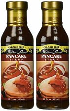 Walden Farms Calorie Free Pancake Syrup Rich Natural Flavors - 12 oz (Pack of 2)