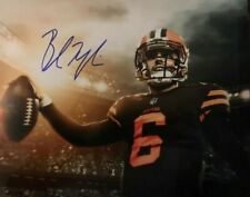 BAKER MAYFIELD Cleveland BROWNS Autographed 8x10 Photo (RP)