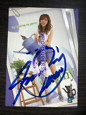 Sunny Autograhed Signed Star Card 2.5 Photocard Great SNSD Girls' Generation