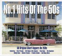 No. 1 HITS OF THE 50s - 2 CD BOX SET - ELVIS, BILL HALEY, PAUL ANKA & MORE