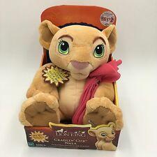 """NWT HASBRO 2002 Disney The Lion King Cradlin' Cub Nala 9"""" Talking Plush"""
