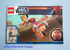 Lego Star Wars 9675 Sebulba's Podracer & Tatooine - INSTRUCTION BOOK ONLY -