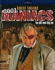 2001 Maniacs BLURAY Robert Englund Horror Fast Ship VG-21337BRD/VG-041
