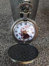 Alice In Wonderland White Rabbit Pocket Watch