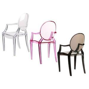 1:6 Doll House Miniature Simulation Armchair Plastic Chair Home Furniture Decor