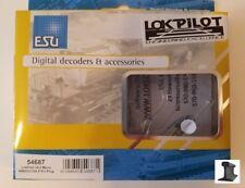 ESU 54687 New 2020 LokPilot Micro Decoder V4.0 MM/DCC/SX 6-Pin NEM651 W Harness