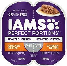 IAMS Perfect Portions Cuts in Gravy & Pate Kitten Grain Free Wet Cat Food