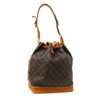 LOUIS VUITTON NOE DRAWSTRING SHOULDER BAG PURSE MONOGRAM M42224 A2881 A52838