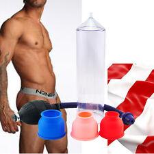 """8Carejoy 8"""" POWER Vacuum Penis Pump Male Enhancement Enlargement + 3 Sleeves FDA"""