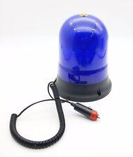 voiture bleu base magnétique PHARE Panne récupération ROTATIVE clignotant