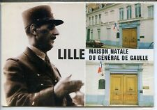 CP 59 Nord - Lille - Maison natale du Général de Gaulle - Multivues couleurs