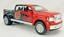 Ford Mighty F-350 Calgary Flames NHL Die-Cast Metal Vehicle Toy Pull Back Action