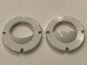 Jandy WaterColors Nicheless LED Underwater Pool Light Lens Cover Kit White