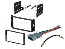 COMPLETE RADIO INSTALLATION TRIM KIT WIRE HARNESS + ANT ADAPTER CORVETTE H3 H3T