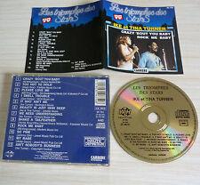 RARE CD ALBUM LES TRIOMPHES DES STARS IKE ET TINA TURNER 12 TITRES 1989