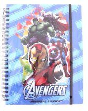 Marvel Avengers Universal Studios Notebook Notepad Journal NWT